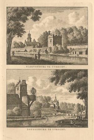 UTRECHT. Klootenburg en Zonnenburg