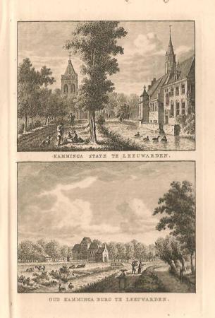 LEEUWARDEN. Kamminga State en Kamminge Burg