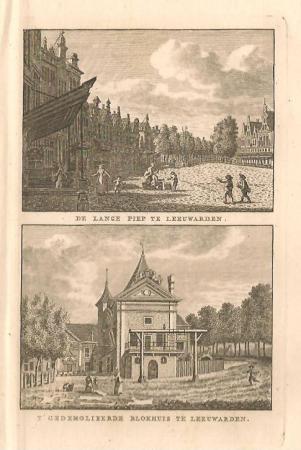 LEEUWARDEN. Lange Pijp en Blokhuis