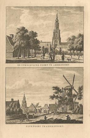 AMERSFOORT. Utrechtse Poort en Slijkpoort.