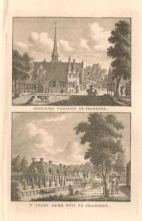 FRANEKER: Diaconieweeshuis en Armenhuis.