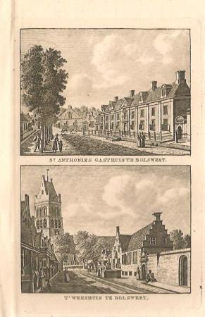 BOLSWARD: Sint Anthoniegasthuis en Weeshuis