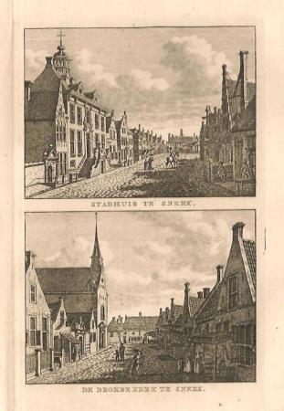 SNEEK: Stadhuis en Broerekerk.