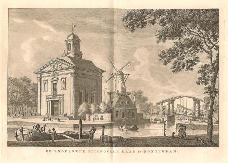 ROTTERDAM. Engelse Kerk.