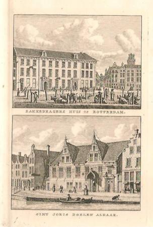 ROTTERDAM. Zakkendragershuis en St. Joris Doelen