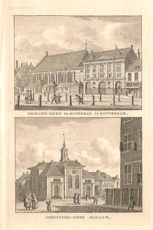ROTTERDAM. Prinsenkerk en Schotse Kerk