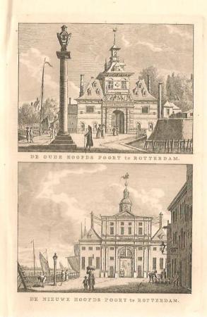ROTTERDAM. Oude en Nieuwe Oosterhoofdpoort