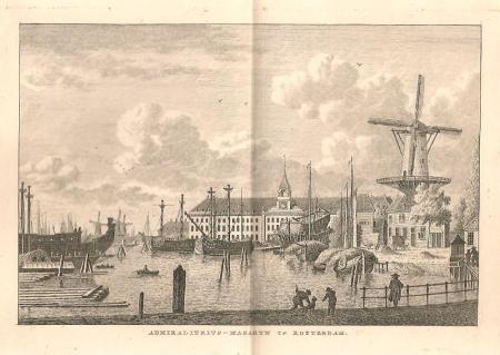ROTTERDAM. Admiraliteitsmagazijn