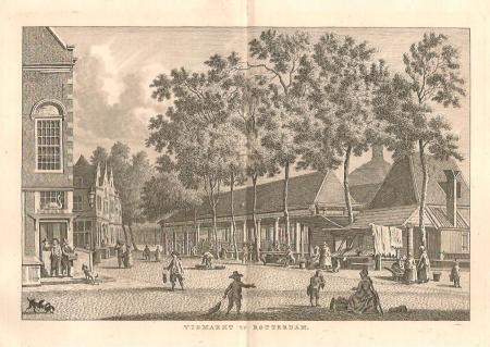 ROTTERDAM. Vismarkt