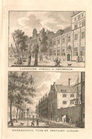 AMSTERDAM. Latijnse school en Kweekschool voor de Zeevaart