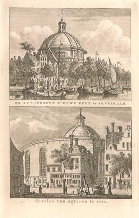 AMSTERDAM. Nieuwe Lutherse Kerk. Singel.