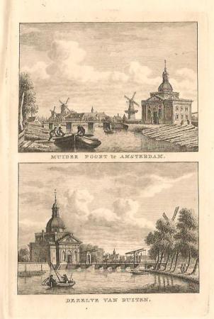 Amsterdam. Muiderpoort.