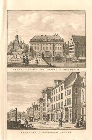 AMSTERDAM. Schouwburgen