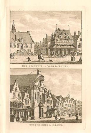 HOORN: Stadhuis, Waag en Oosterkerk