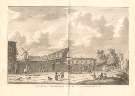 ROTTERDAM. VOC: Scheepstimmerwerf.