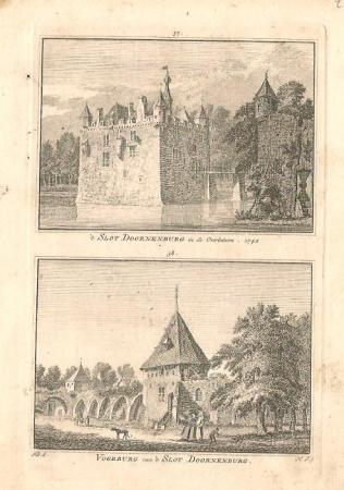 DOORNENBURG. Slot Doornenburg.