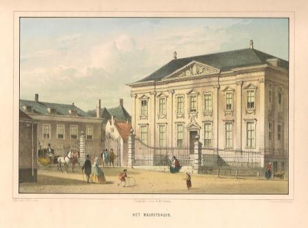 DEN HAAG. Het Mauritshuis.