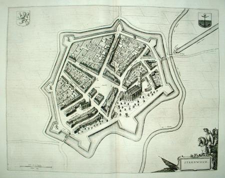 STEENWIJK. Stadsplattegrond.