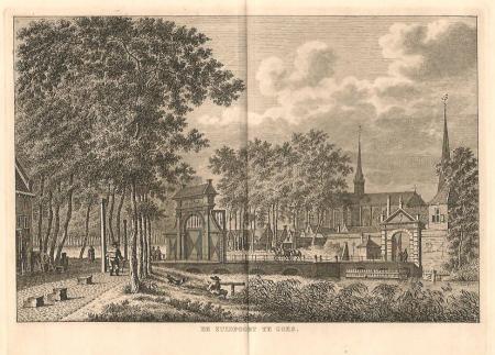 GOES. Zuidpoort en Grote kerk