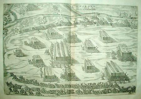 COEVORDEN. Ontzet 1594 door Maurits