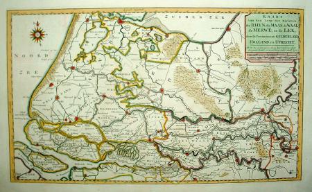 HOLLAND: Zuid-Holland, met Gelders, Brabants en Utrechts rivierengebied
