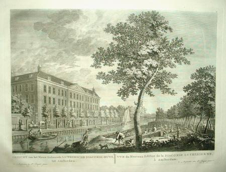 AMSTERDAM. Nieuwe Keizersgracht. Lutherse diaconiehuis.
