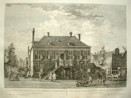 AMSTERDAM. Nieuwezijds Herenlogement. Haarlemmerstraat.