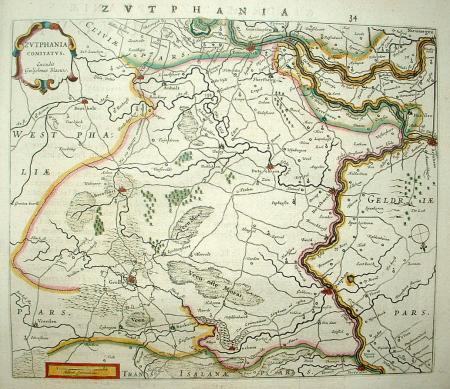 GELDERLAND: Graafschap Zutphen.