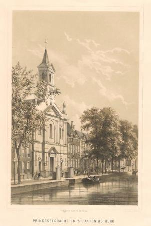 DEN HAAG. Prinsessegracht. St. Antoniuskerk.