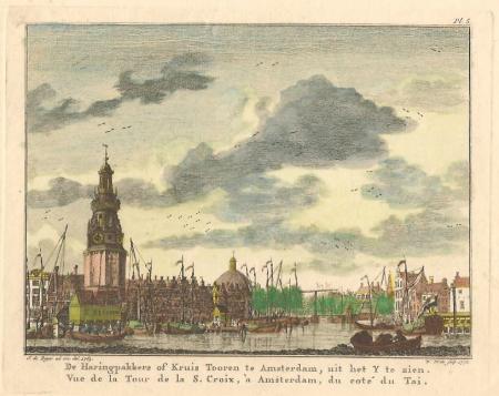 AMSTERDAM. Haringpakkerstoren.