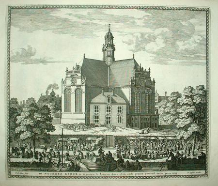 AMSTERDAM. Noorderkerk.