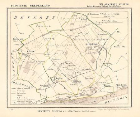VALBURG, HERVELD en ZETTEN.
