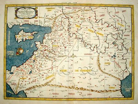 HEILIGE LAND (Israël). SYRIË. CYPRUS. MESOPOTAMIË (Tweestromenland, Irak)