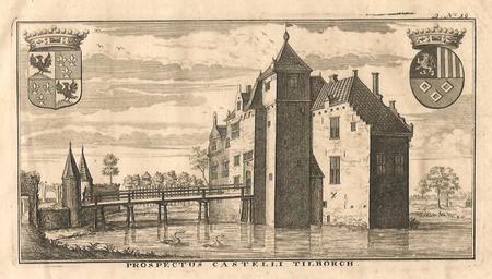 TILBURG. Kasteel van Tilburg.