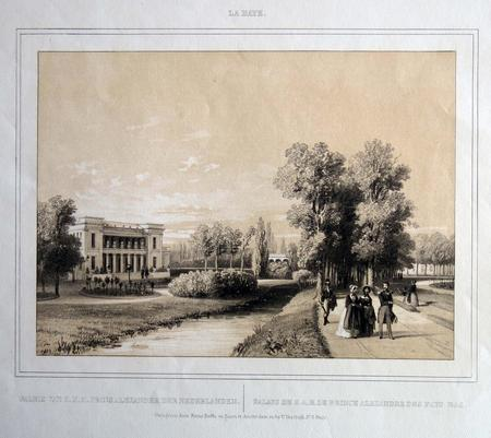 Den Haag. Paleis van Z.K.H. Prins Alexander der Nederlanden