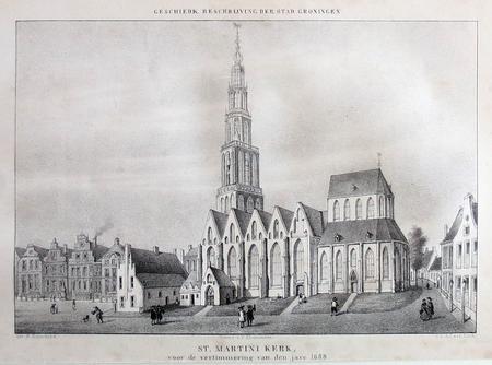 Groningen. St. Martini Kerk