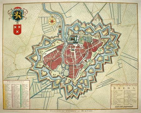 BREDA. Stadsplattegrond.