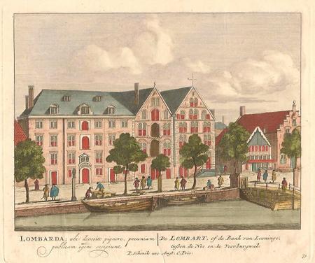 AMSTERDAM. Bank van Lening.