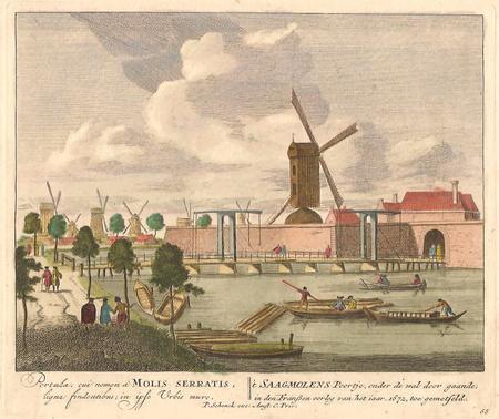 AMSTERDAM. Zaagmolenpoort