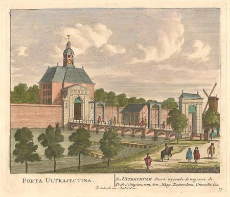 AMSTERDAM. Utrechtse Poort.