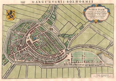 Schiedam. Plan of Schiedam.