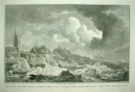 Scheveningen. Flood 1775