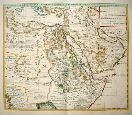 Africa: Northeastern Africa. Asia: Arbabia
