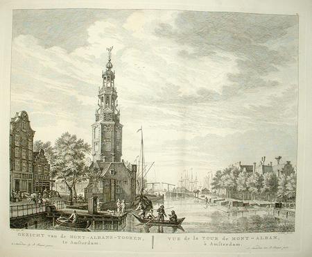 AMSTERDAM. Montelbaanstoren.