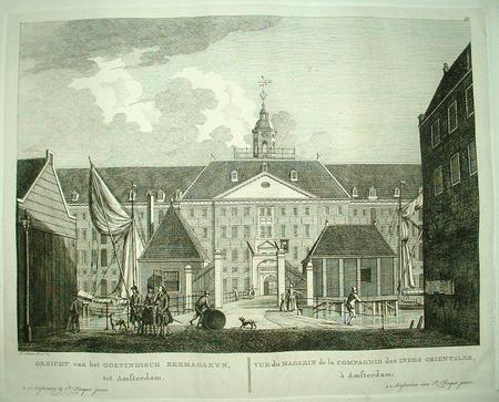 Amsterdam. VOC. Oostenburg. 'Oostindisch Zeemagazyn'