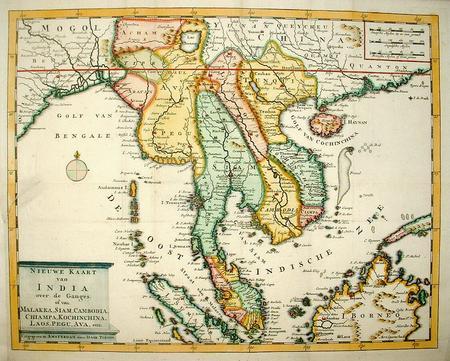 Malaysia. Indochina.