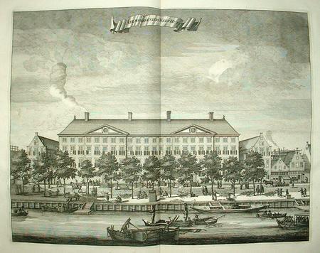 AMSTERDAM. Prinsengracht. Gerechtshof.
