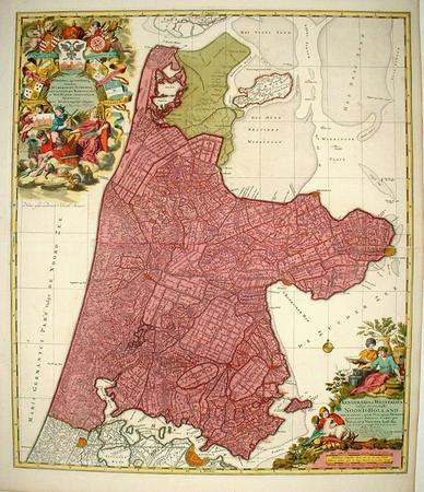 Holland. 'Kennemaria et Westfrisia'