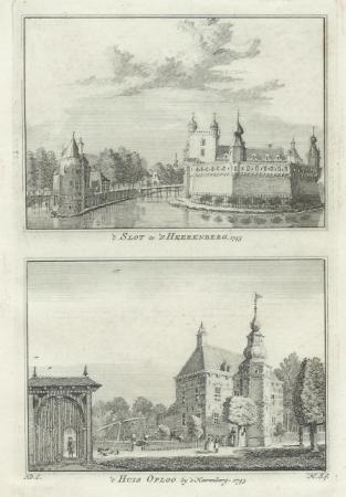 HEERENBERG'S-. 't Slot en Huis Oploo.
