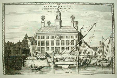Delfshaven. VOC. Oostindisch zeemagazijn.